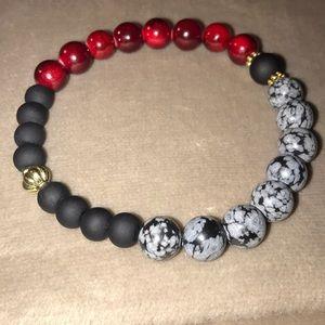 Handmade Garnet Bracelet